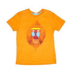 Chandail manche courte coton orange, Paul Smith (6 ans) échantillons de vêtements haut de gamme en vente à 60% de rabais