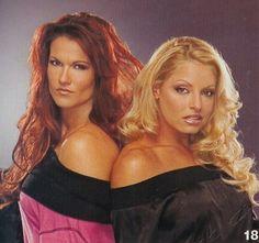 Wwe wrestlers Lita & Trish stratus