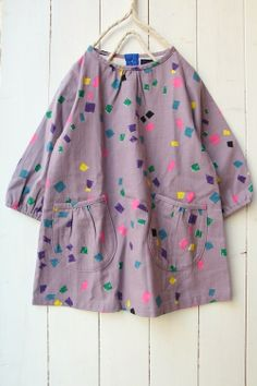 Art Smock (Little Things to Sew) with Puppet Show Shorts or Jump Rope Dress pockets