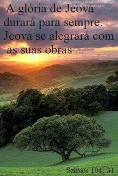 A glória de Jeová durará para sempre. ..