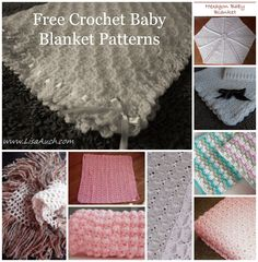 My personal favourite collection of go-to FREE Baby Blanket Crochet Patterns, and perfect baby blanket ideas for creating your own unique baby blanket. I love crocheting baby blankets, and over the ye