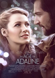 #BlakeLively and #MichielHuisman are timeless in the new poster for The Age of #Adaline, in theaters April 24th.