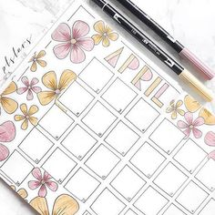 It's too late to use @plslars #helloapril monthly spread, but flowers will work for May, too!⠀ .⠀ .⠀ Looking for these @tombowusa dual brush pens or other stationery supplies? Click on the link in my bio to SHOP MY INSTAGRAM FEED!⠀ .⠀ .⠀ MONTHLY✨⠀ Thanks for the amazinggg support on my April Coverpage yesterday! Gives me so much motivation to post more and more!☺️⠀ -⠀ -⠀ -⠀ -⠀ -⠀ #april #flowers #immtribe #bo