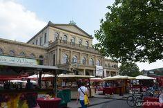 Ópera y su mercado en Hannover