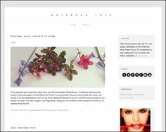 250+ Free Responsive WordPress Themes | Designrazzi Like a Blogger, 2012 child theme