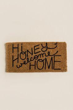 Hi Honey Welcom Home Door Mat