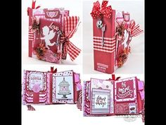 Authentique Sweetheart Valentine Mini Album Tutorial - Kathy by Design