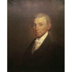 James Monroe Gilbert Stuart (1755-1828 American) Canvas Art - Gilbert Stuart (24 x 36)