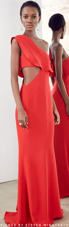 Cushnie et Ochs Pre Fall 2017 Lookbook #dress #gown #pf17 #prefall2017 #cushnieetochs