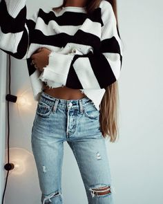 Fall Looks : Picture Description fall outfit ideas Casual Outfits, Cute Outfits, Fashion Outfits, Fashion Trends, Style Fashion, Fashion Styles, Fashion Clothes, Look 2018, Cooler Look