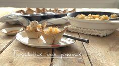 Tartelettes aux pommes | Cuisine futée, parents pressés Quebec, Dessert Express, Tart Recipes, Biscuits, Muffins, Sweet Treats, Berries, Dairy, Sweets