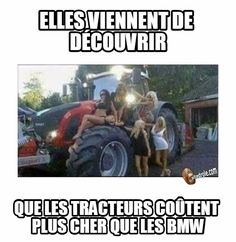 They've simply found that tractors value greater than BMW! Cat Memes, Funny Memes, Jokes, Meme Meme, Lion, Good Good Father, Wtf Funny, Funny Shit, Bmw
