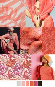 MV-CB24-Pink-M Floral Print Stretch Lace Dress Fabric