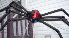 Homemade Halloween Decorations — RobynsOnlineWorld.com www.robynsonlineworld.com853 × 480Search by image On the right is the Spooky Spider. Another milk jug is used here for his body. The legs are just 4 big black foam pipe insulation pieces (less than $1 each). This