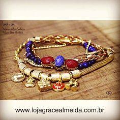 Acessórios com pedras naturais que sobrevivem ao tempo!! Na loja virtual: www.lojagracealmeida.com.br No BLOG: www.gracealmeida.com.br/blog