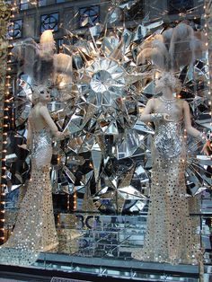 Bergdorf Goodman Follies of 2012 Retail Windows, Store Windows, Merchandising Displays, Store Displays, Cool Retail, Nyc Holidays, Window Display Design, Window Displays, Carnival Of The Animals