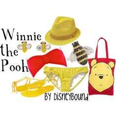 This person puts together the best disney-themed outfits! I love Pooh...