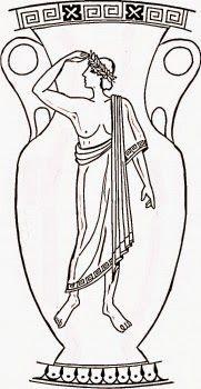 Risultati immagini per greek vase coloring page Art Nouveau, Greece Art, Greek Flag, Flag Coloring Pages, Greek Pottery, Vase Crafts, Wooden Vase, Illustration, Black Vase