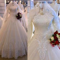 Wedding Dresses For Older Women, Wedding Dresses Atlanta, Wedding Dresses Near Me, Modest Wedding Gowns, Designer Wedding Dresses, Muslim Gown, Muslim Wedding Gown, Bridal Hijab, Islam