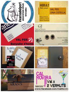 Llistat regals sorteig Facebook del concurs de #xarxadelport #totcambrils  a #firacambrils #eshoradefira #cambrils #tarragona