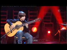 """RIP Paco de Lucia / Entre dos aguas - Amos Lora - YouTube / Amos at 12 years old in El Sol, La Sal, El Son / now 14... """"El Rey ha muerto, ¡Viva el Rey!"""""""