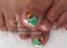 Toe Nail Art, Toe Nails, Acrylic Nail Designs, Acrylic Nails, Lettering Tutorial, Pedicure, Lily, Beauty, Designed Nails