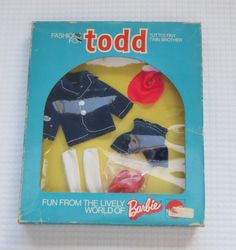 Mattel Todd Vintage European Fashion Outfit #7986 Shorts NRFB Tutti brother 1973 | eBay
