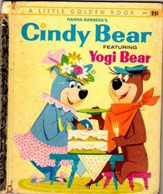 Cindy Bear Featuring Yogi Bear - Little Golden Book