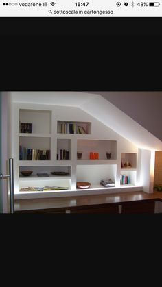 Libreria nel sottoscala