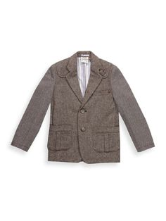 Herringbone Mix Blazer by Fore Axel and Hudson at Gilt