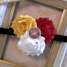 MILITARY Marine Corps 5/8 FOE Shabby Chic by ChristysAccessories, $6.99