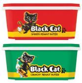 Black Cat Peanut Butter Tub