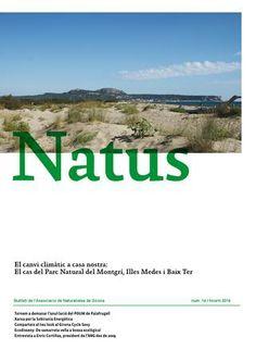Butlletí número 14 de l'Associació de Naturalistes de Girona