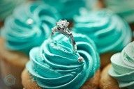 Blue Tiffany's Cupcake