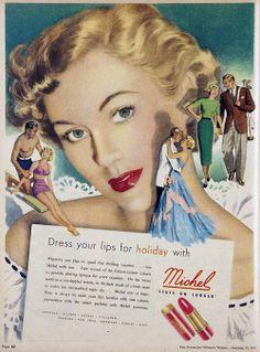 Michel lipstick, 1949