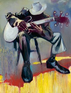 """Crawlin King Snake "" original oil painting by Gabe Leonard African American Art, African Art, Jimi Hendricks, John Lee Hooker, Black Art Pictures, Drawn Art, Jazz Art, Blues Artists, Guitar Art"