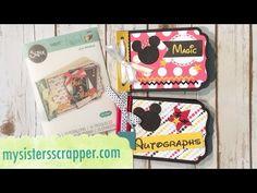Lori Whitlock Mini Album – Disney Themed – My Sisters Scrapper & at http://mysistersscrapper.com/2016/06/lori-whitlock-mini-album-disney-themed/