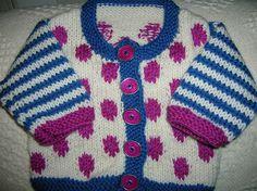 Ravelry: AuntSuzy's baby sweater - intarsia