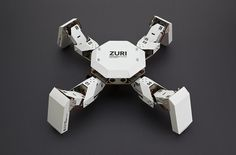 ZURI 01 Paperbot System is a programmable, modular robotics platform created by Germany company Zoobotics that users build with cardboard and paper. The smartphone-controlled DIY robot is currently...