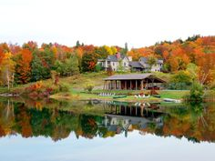 Head to Twin Farms in Barnard, Vermont, the highlight of New England's rural retreats, for high design cottages, farm-to-table spreads, and sprawling 300-acre grounds. Days are filled with outdoor pursuits, strolls through fall foliage, old-fashioned pampering, and plenty of new-fashioned gluttony at this all-inclusive Relais