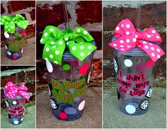 BUNCO To-Go Acrylic Tumbler Cup - 2 Styles Available. $12.00, via Etsy.