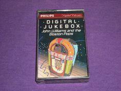 John Williams - Boston Pops - Digital Jukebox Rare Factory Sealed Cassette Tape
