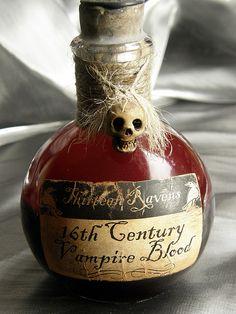 Vampire Blood Bottle | by deadspider