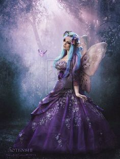 Gorgeous Purple Fairy