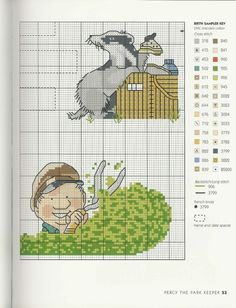 Gallery.ru / Фото #47 - Adele Welsby`s - Cross Stitch Characters - anfisa1