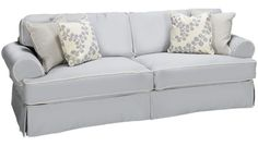 Rowe - Addison - Sofa With Slipcover - Jordan's Furniture