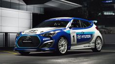 hyundai veloster | Hyundai Veloster Race Concept ready to rally in Australia - Photos (3 ...