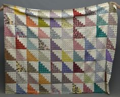 Can you believe this is a Yo-yo quilt?