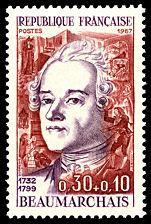 Pierre-Augustin Caron de Beaumarchais. 1732-1799