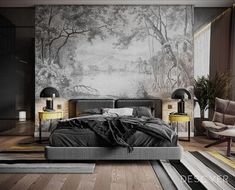 47 Modern Bedroom Interior Design If you enjoy flipping through décor magazines to keep up with the latest trend in bedroom design, you must already […] Apartment Interior Design, Bedroom Apartment, Home Interior, Home Decor Bedroom, Modern Interior Design, Bedroom Furniture, Bedroom Lamps, Bedroom Ideas, Contemporary Bedroom